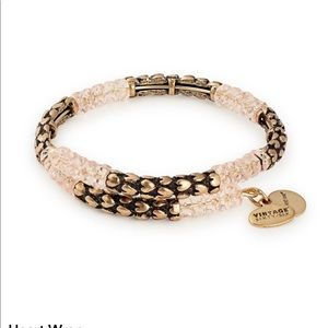 Alex & Ani Rafaelian Gold Heart Wrap